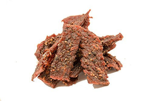People's Choice Beef Jerky - Tasting Kitchen - Cowboy Peppered - Gourmet Handmade Craft Meat Snack - 2.5 Ounce, 1 Bag (Pack of 3)