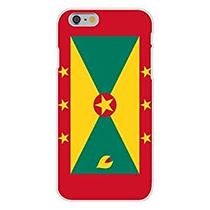 Apple iPhone 6 Custom Case White Plastic Snap On - Grenada - World Country National Flags