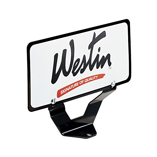 Westin 32-0055 License Plate Relocator for Bull Bar (2005 Ford Explorer Front License Plate Bracket)