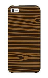 Hot DhLZb474EHuti Case Cover Protector For Iphone 5c- Wood Grain