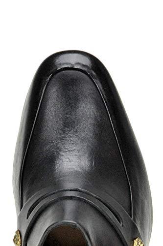 Schutz Sandals Leather Mcglcat04045i Women's Black rxqarH