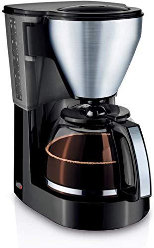 COOLSHOPY Filtro de café de la máquina, Cafetera de Goteo Cafetera Goteo con 1 l Jarro de Cristal Desmontable Anti-Goteo…