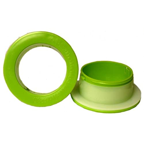 1 Pair of Green Color Plastic Hand Saver for Hand Stretch Wrap Film