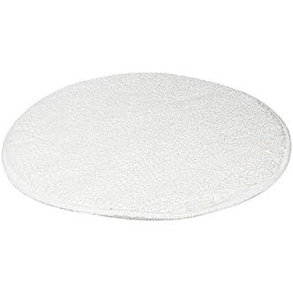 Rubbermaid Commercial Low-Profile Bonnet, 17-Inch Diameter, White (FGP25700WH00)
