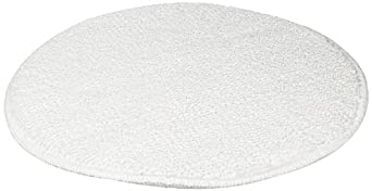 Rubbermaid Commercial FGP25700WH00 17-Inch Low-Profile Bonnet, White (Pack of 5)