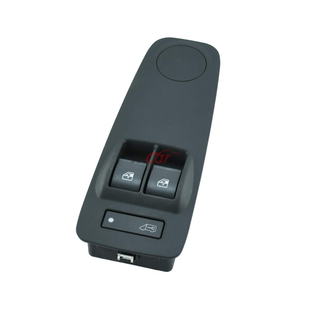 Color Gris RTP Interruptor Botonera de Elevalunas El/éctrico Doble de 20 Pines con Cierre Centralizado para FIAT DUCATO III