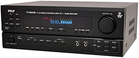 Wireless Bluetooth Power Amplifier System - 420W 5.1 Channel Home Theater Surround Sound Audio Stereo Receiver Box w/ RCA