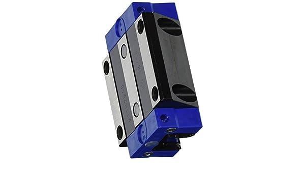 NBK MJC-65K-RD-20-15//16 Jaw Flexible Coupling 20 mm and 15//16 Bore Diameters Set Screw and Key Type Aluminum A2017