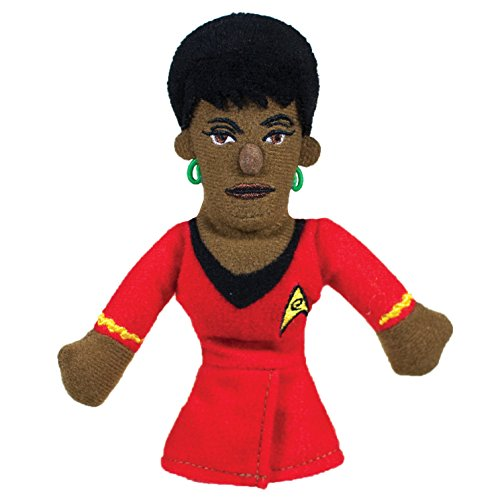 Puppets Alien Finger - The Unemployed Philosophers Guild Uhura Finger Puppet and Refrigerator Magnet - Original Star Trek - for Kids and Adults