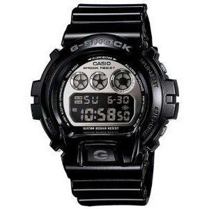 Iced Out Casio G-Shock DW6900NB-1 Diamond Simulation 350 Stones Mirror ()