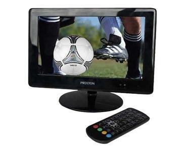 "Prixton PVD100 - Televisor portátil LCD de 9"", color negro"