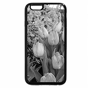 iPhone 6S Plus Case, iPhone 6 Plus Case (Black & White) - Spring Day in my garden 47 Tulips
