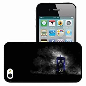 Personalized iPhone 4 4S Cell phone Case/Cover Skin Doctor Who Black