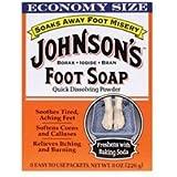 Johnsons Foot Soap Powder, 8 each by Johnson & Johnson