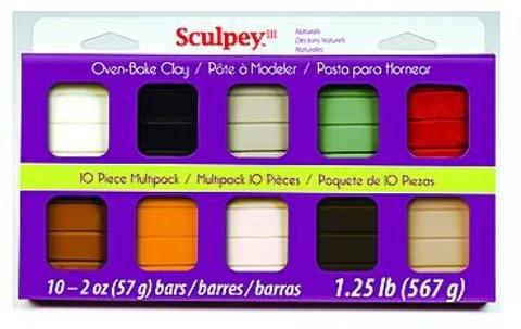Sculpey III Multipacks (Naturals) 1 pcs sku# 1841300MA