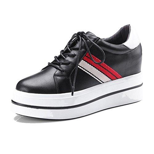 Talon noir à Chaussures Femme Classique WSXY Escarpin A1416 Plateformes KJJDE Shoes Compensé Chaussures Femme zZOBxBq