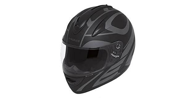 Amazon.es: Casco integral Held Darcon, color negro y gris, mate, talla XL