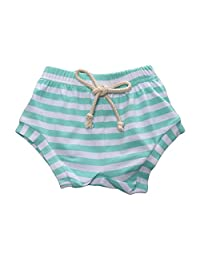 LOOLY Baby Boys Girls Striped Shorts Little Kids Summer Bloomers