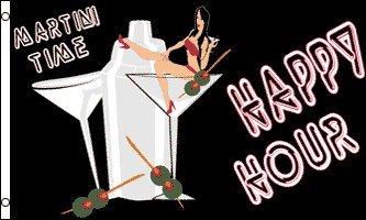happy-hour-flag-3x5-liquor-sign-bar-drink-alcohol-martini-highball