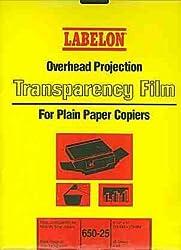 Overhead Projection Transparency Film For Plain Paper Copiers