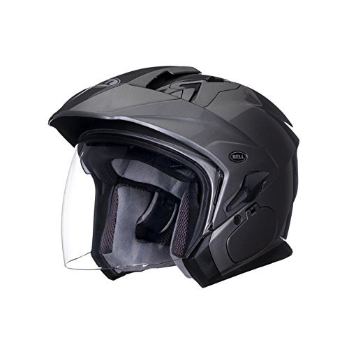 Bell Mag-9 Unisex-Adult Open face Street Helmet (Solid Titanium, XX-Large) (D.O.T.-Certified)