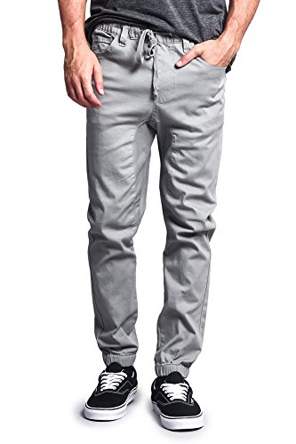 G Style Crotch Jogger Twill Pants