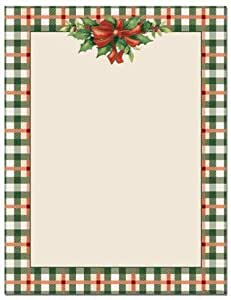 Masterpiece Studios 9720073 Traditional Plaid - Pack of 100