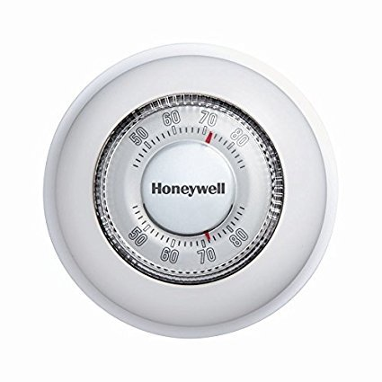 Heating Cooling Thermostat (New Honeywell Ct87n Heat Cooling Round Precise Heating House Thermostat 1193622)