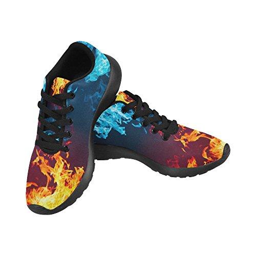 InterestPrint Womens Jogging Running Sneaker Lightweight Go Easy Walking Casual Comfort Sports Running Shoes Multi 1