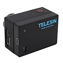 TELESIN Power Battery Bacpac for Gopro Extended Battery Bacpac with Backdoor Case for Hero4/3+/3