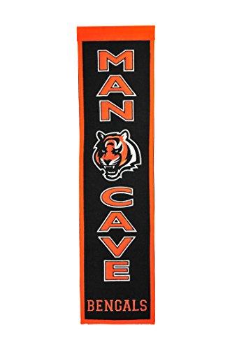 NFL Cincinnati Bengals Man Cave (Cincinnati Bengals Nfl Wall Hanging)
