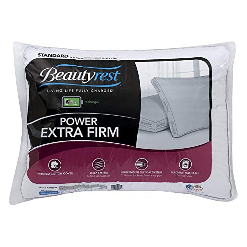 Beautyrest Luxury Power Extra Firm Pillow, Queen Set of 2