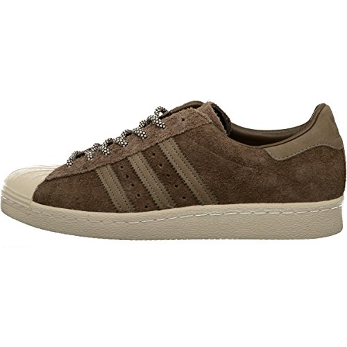 adidas Superstar 80s Scarpa Brown/White