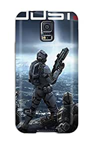 Best Tpu Phone Case With Fashionable Look For Galaxy S5 - Eve Dust 514