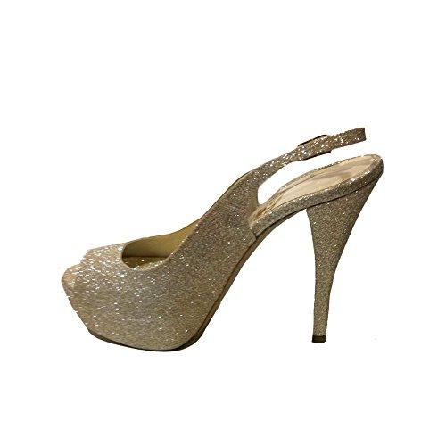 Crema Blanco Zapatos Mujer de Vestir ACCESSORI ITALIANA Para Px0URwUq