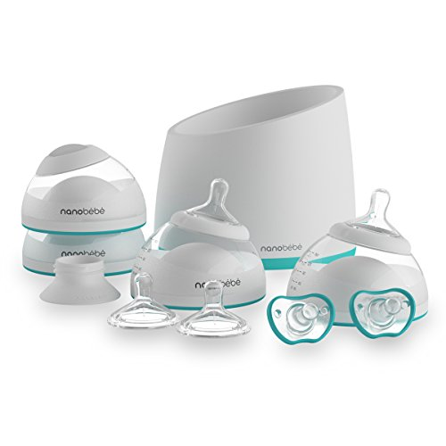 nanobebe Bottle Newborn Feeding Starter Set