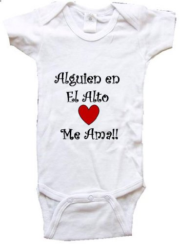 alguien-en-el-alto-me-ama-el-alto-baby-city-series-white-baby-one-piece-bodysuit-size-small-6-12m