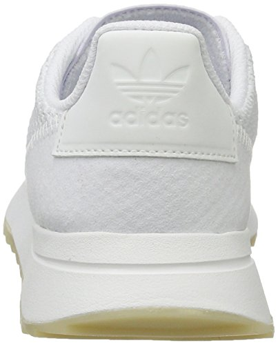 footwear Sneakers White White Flashback Basses footwear Femme Adidas Blanc q6Zg1