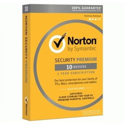 Norton Sec Premium 10 Dvcs 25Gb