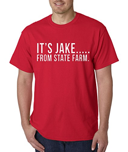 new-way-484-unisex-t-shirt-its-jake-from-state-farm-commercial-ad-medium-red