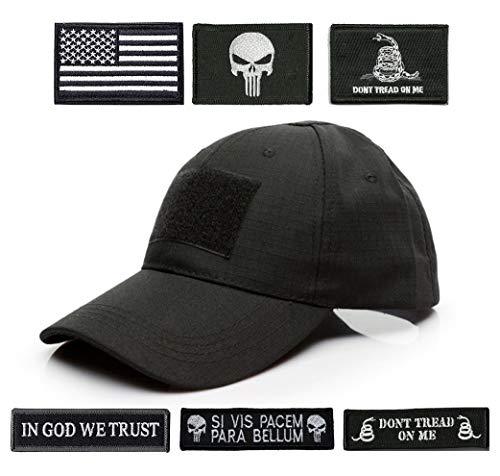 Antrix Tactical Cap Tactical Hat Adjustable Operator Cap Outdoor Baseball