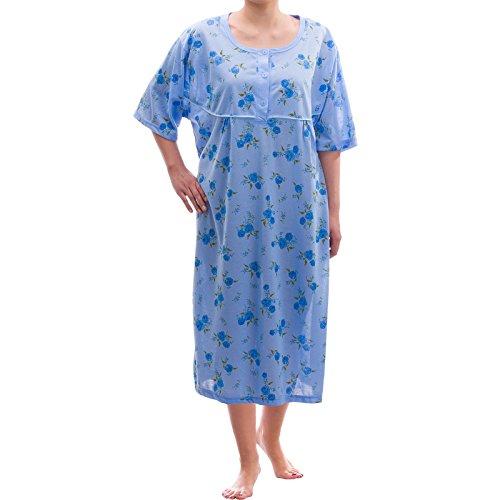 Romesa Camicia Print da grande ricamo con Blau mini notte SZBZq