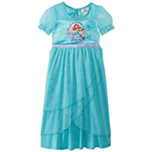 Komar Kids Little Girls' Ariel Timeless Elegance Dressy Sleep Gown