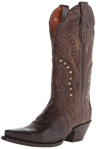Dip Western Boots (Dan Post Women's Carisma Western Boot, Brown, 8.5 M)