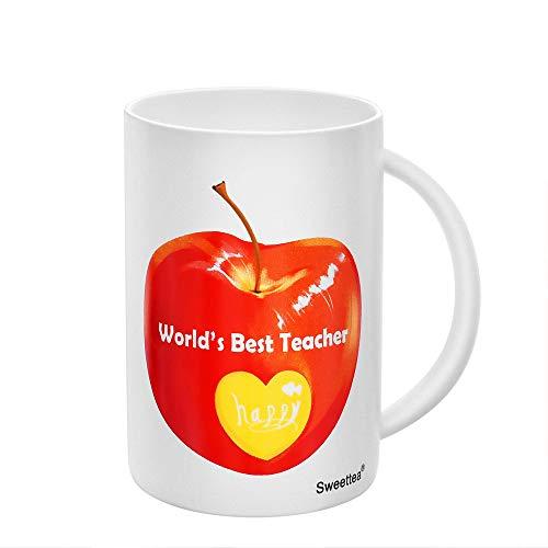 Teacher's Day Graduation Gifts Teacher Coffee Mug Tea Milk Cup - World's Best Teacher 350ml 12oz