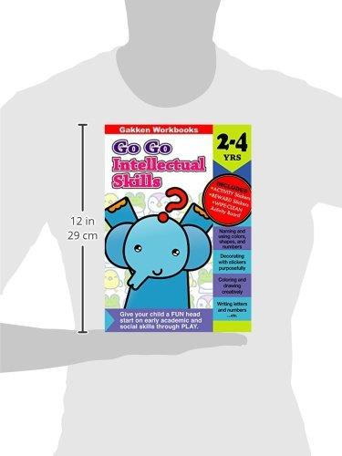 Go Go Intellectual Skills 2-4 (Gakken Workbooks): Gakken ...