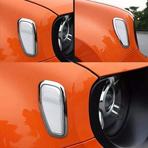 Sandis Indicatore di Direzione di Avvertimento di Riflessione Laterale Automobile Indicatore di Direzione Anteriore Indicatore di Direzione per Renegade 2014-2017 Fumo Nero