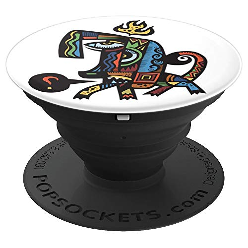 Pablo Picasso Dog Artwork, Colored Reproduction - PopSockets Grip and Stand for Phones and Tablets ()