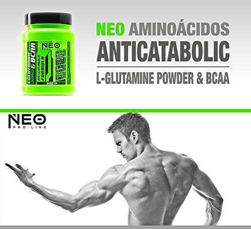 L-GLUTAMINE & BCAA FRESA ACIDA 600 g - Suplementos Alimentación y Suplementos Deportivos – NEO PRO-LINE