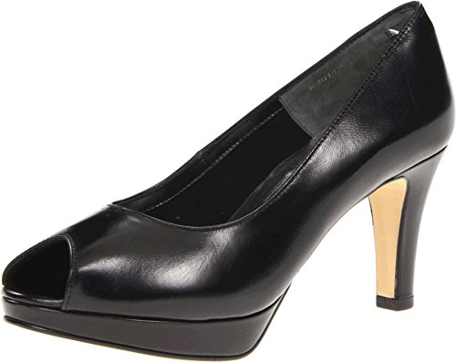 Walking Cradles Women's Prom Platform Pump - Black - 8 B(...